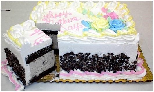 Carvel Strawberry Ice Cream Cake