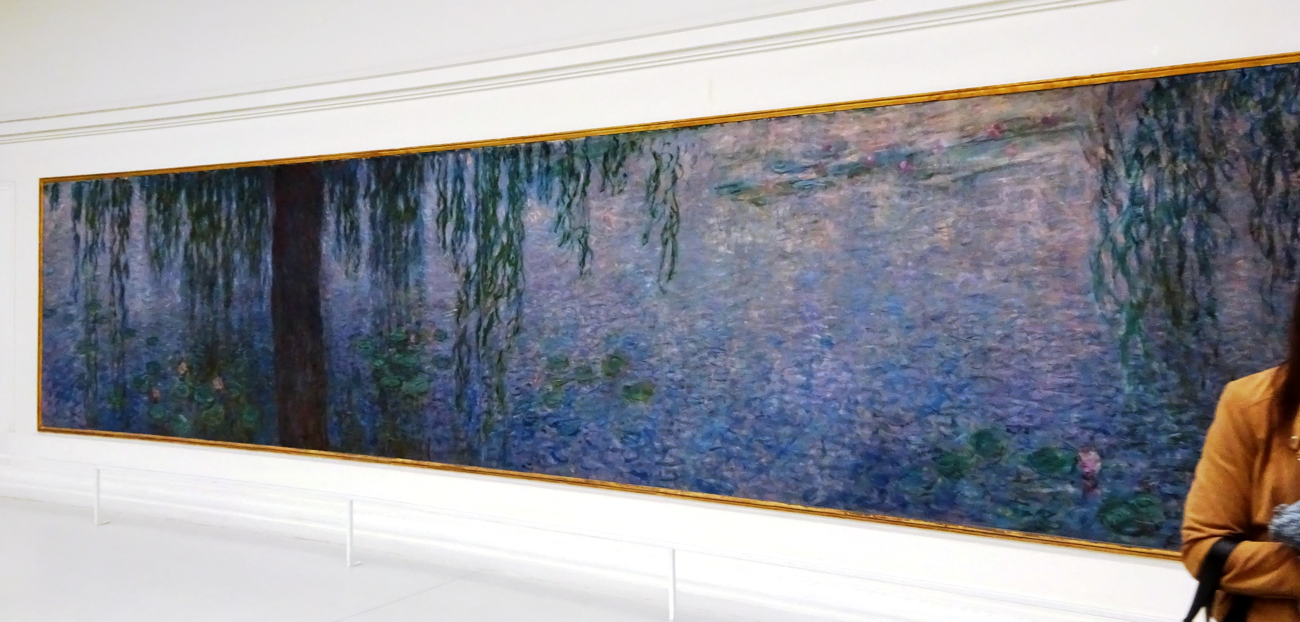 a comparison of de koonings lily pond and monets water lilies Water lilies is a series of approximately 250 oil paintings by french impressionist  claude  claude monet, the water lilies - setting sun, 1920–1926, musée de l' orangerie claude monet, reflections of clouds on the water-lily pond, c  on  19 june 2007, one of monet's water lily paintings sold for £185 million at a.